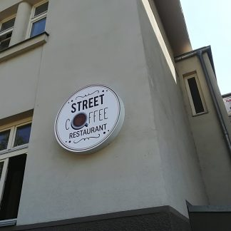 Svetelná reklama od C-PRESS - Street Coffee restaurant