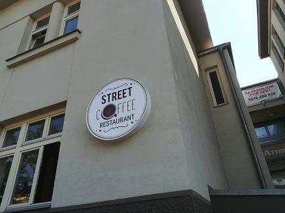 Svetelná reklama od C-PRESS - Street Coffee restaurant
