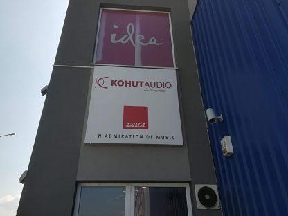 Svetelná reklama od C-PRESS v Košiciach - Idea Nad Jazerom Košice