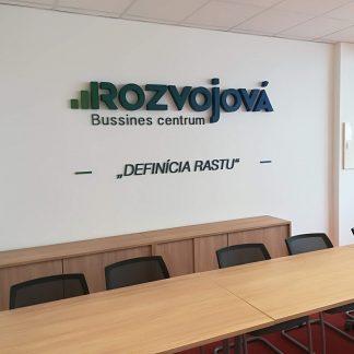 3D Logo od C-PRESS v Košiciach - Rozvojová Business Center