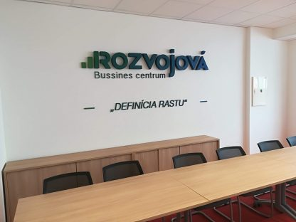 3D Logo od C-PRESS v Košiciach - Rozvojová Business Center