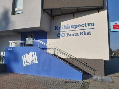 3D Logo a Realizácia predajne od C-PRESS v Košiciach - Panta Rhei Košice