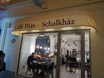 3D Logo od C-PRESS v Košiciach - Café Dias Schalkház