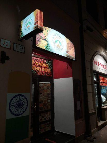 Svetelná reklama od C-PRESS v Košiciach - Indická reštaurácia Masala Košice