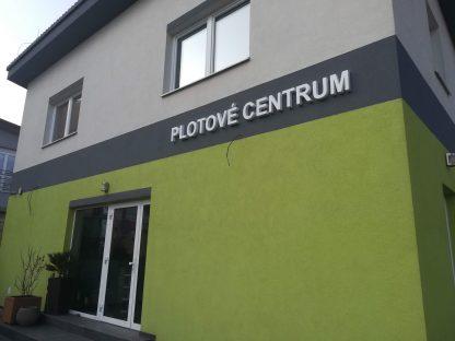 3D nápis od C-PRESS v Košiciach - Plotové centrum