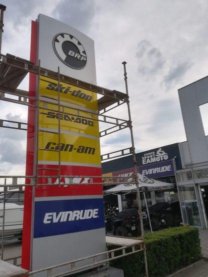 Realizácia predajní v exteriéry od C-PRESS v Košiciach